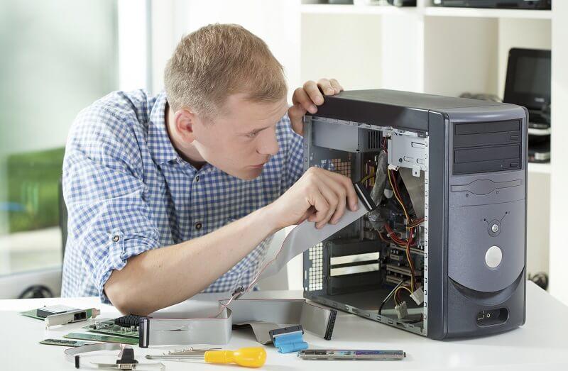 טכנאי מחשבים עמוד פנימי קטגוריה